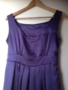 Purple maternity dress size 10 Everton Hills Brisbane North West Preview