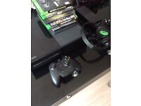 Xbox ONE 500gb 5 games + headset