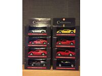 Ferrari Shell Collezione Full Collection Diecast 1:38 Scale