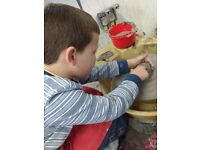 CHILDREN'S POTTERY WORKSHOPS /CLASSES /SESSIONS