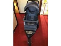 Mother care pram and car seat used