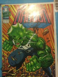 Savage Dragon #1 signed