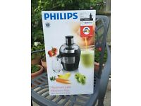 Philips Juicer. Brand new in box.