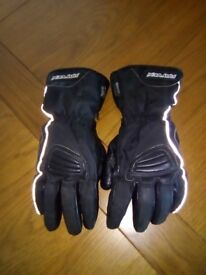 Rayven Thinsulate Motorcycle gloves.