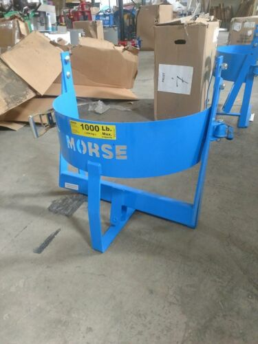 "MORSE 86 Drum Lifter Vertical 1000 lb Load Cap 25-1/2"" Length Carbon Steel"
