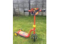 Fireman Sam scooter with lights and sounds