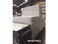 ✅ NEW COIL SPRUNG & REFLEX TOPPED MATTRESSES ~ HALF PRICE & DELIVERY TODAY