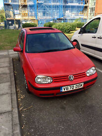 SELL VW GOLF 4!