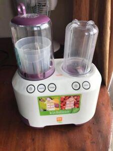 Baby blender/baby steamer