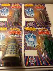 Doctor Who Vintage Dapol Action Figures (1988/89 Toys)