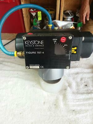 Resilient Seat Valve With Keystone Actuator New Surplus