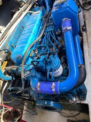 Perkins 6.3544 M Marine Diesel Engine 185 Hp Pair W Borg Warners
