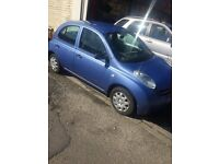 Nissan Micra S 04 Reg 12 months M.O.T 3 Previous Owners Low Mileage 82k Drives SmoothQuick sale £650