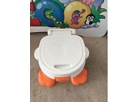 Potty training for boy-fisher price