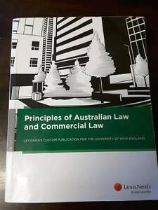 Principles of Australian Law and Commercial Law Lexis Nexis Gilgai Inverell Area Preview