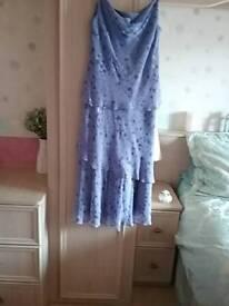 Lilac dress size 14 petite
