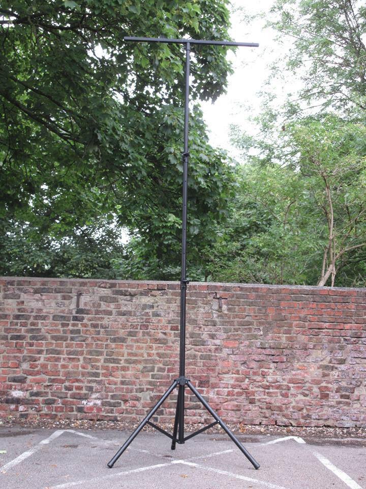 3.5 Metre Dual Telescopic Lighting Stand with Lighting T Bar