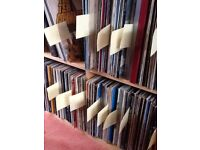 Approximately 200 vinyl LPs of different genres