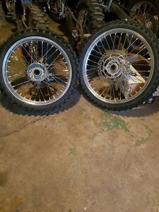 Rmz 250-450 excel wheels Rothwell Redcliffe Area Preview