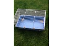 Rabbit/Guinea pig cage with litter tray