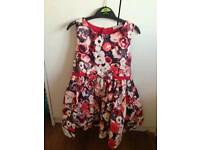 Lovely girls dress age 5yrs immaculate