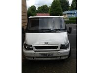 White transit van for sale immaculate condition for it's age inside is clean central locking etc
