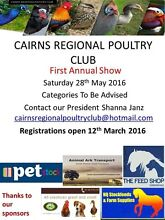 Cairns Regional Poultry Club - Poultry Show Mooroobool Cairns City Preview