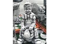 Pinocchio garden ornament