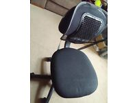 IKEA Office Chair in good condition! With free spine-friendly backrest!