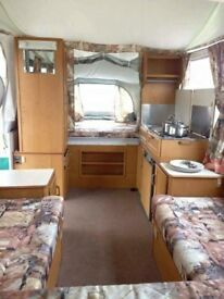 Penine Pullman 535 trailer tent for sale. 4-6 berth, sink, cooker, fridge, a home from home.