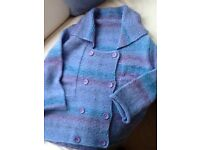 Lady,s handknitted jacket Small