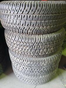 4 Summer tires michelin passanger 275/65r18