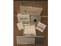 Mac mini 2012 core i5, 4GB RAM, 500GB HDD, Apple KeyboardTrackpad all Boxed.swap for mabook pro