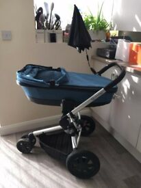 Quinny Buzz with Carry Cot, Seat & lots of accessories Offers welcome