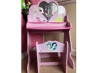 Disney Princess dressing table and chair