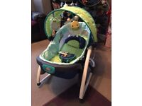 2in1 baby rocker in immaculate condition