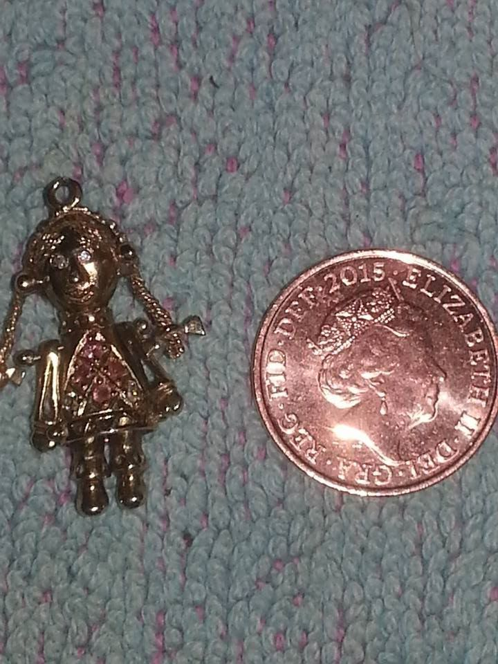 9ct gold rag doll pendant charm in tuffley gloucestershire 9ct gold rag doll pendant charm mozeypictures Images