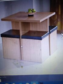 Space saving and great storage table