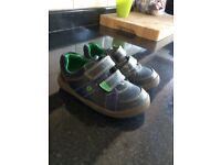 Clarks boys shoes 7G