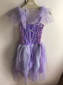 Purple fairy dressing up costume age 3-5 years £3 collection from Shepshed. (can post)