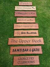 Beautifully rustic Wooden Signs Australian made to order Officer Cardinia Area Preview
