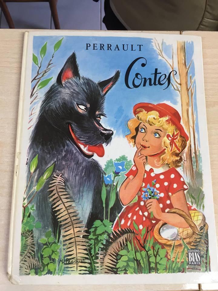Livre contes choisis de perrault
