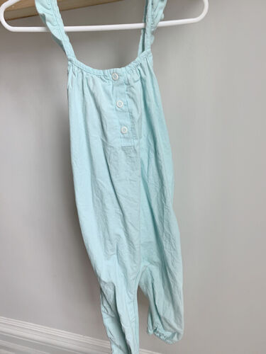 Zara Baby Light Blue Jumpsuit Romper Toddler Size 3-4
