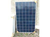 9 solar panels , 250 watts