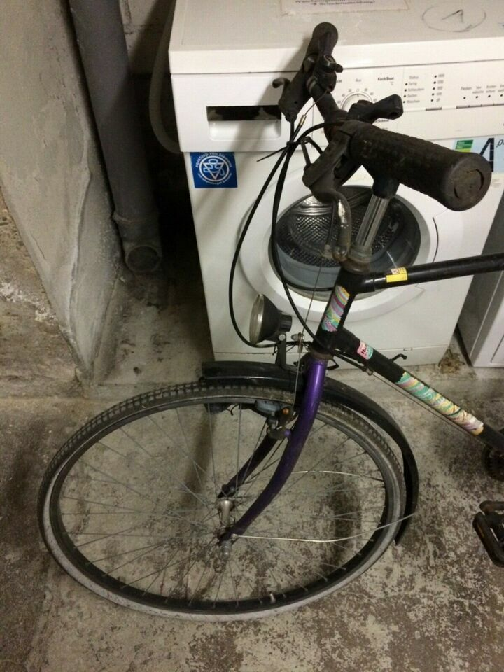 ACTIVE Marken Fahrrad Rennrad in schwarz violett-lila 80er / 90er in Köln - Köln Klettenberg