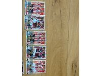 Variety of Match Attax/Adrenalyn Collector Cards