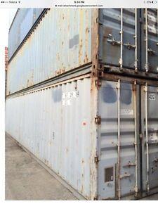 Shipping container 40' $1750.00 inc gst Carlton Kogarah Area Preview
