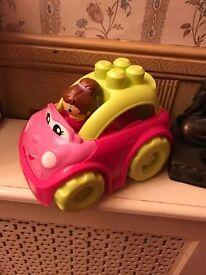 Mini Blocks car (comes with the blocks)