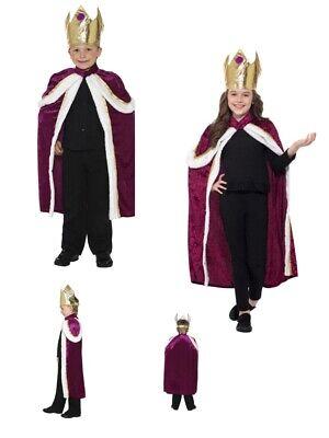 Boys Girls Kiddy King Wise Men Queen Nativity Bethlehem Fancy Dress Costume Fun