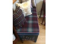 SALE ! Lovely Storage Bench and Cushion